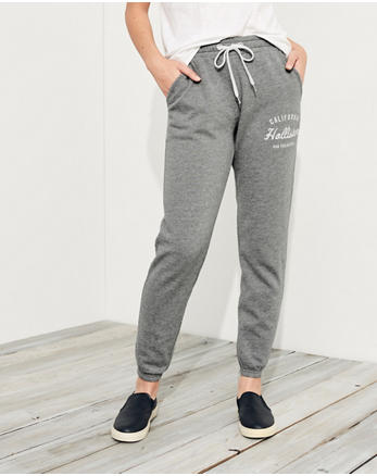 hol Mid-Rise Banded Sweatpants