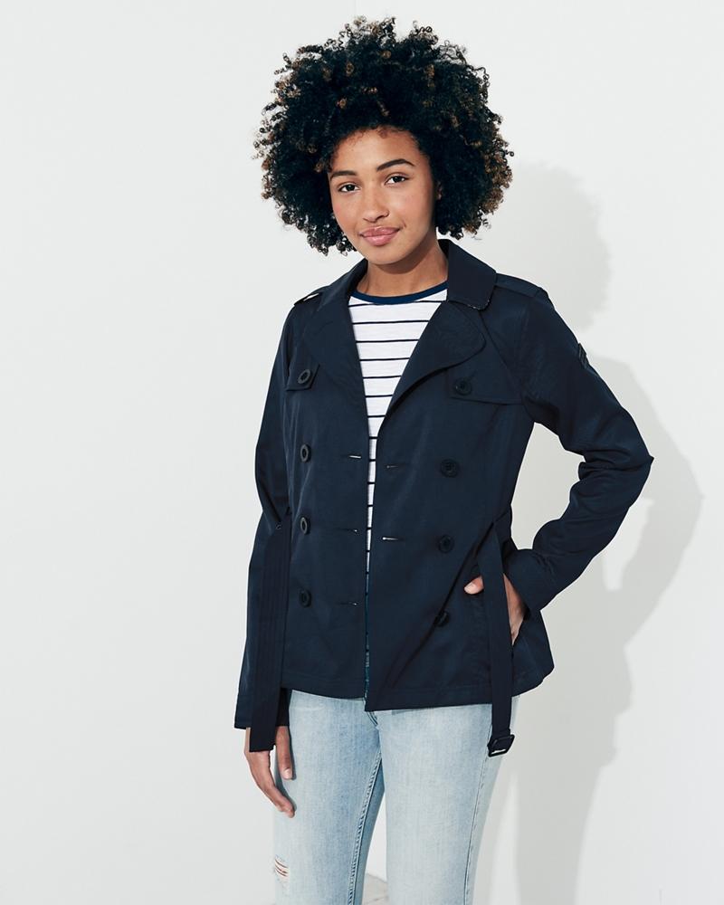 Hollister womens coats uk