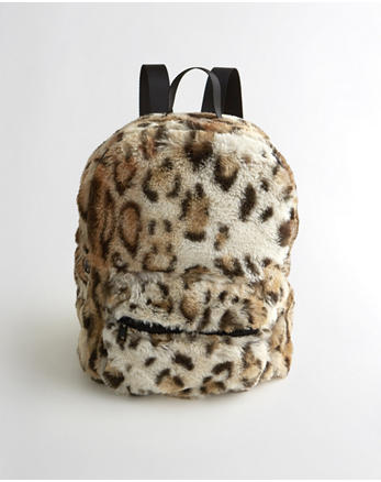 hol Faux Fur Mini Backpack