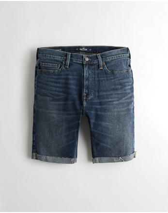 hol Super Skinny Denim Shorts