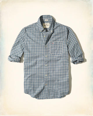 hollister shirts for men blue - photo #35