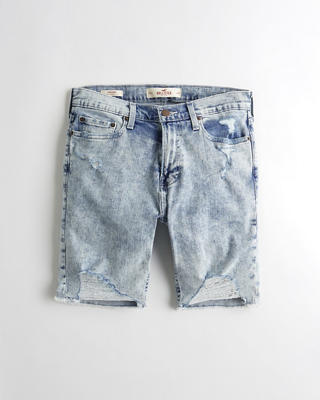 Super Skinny Denim Shorts