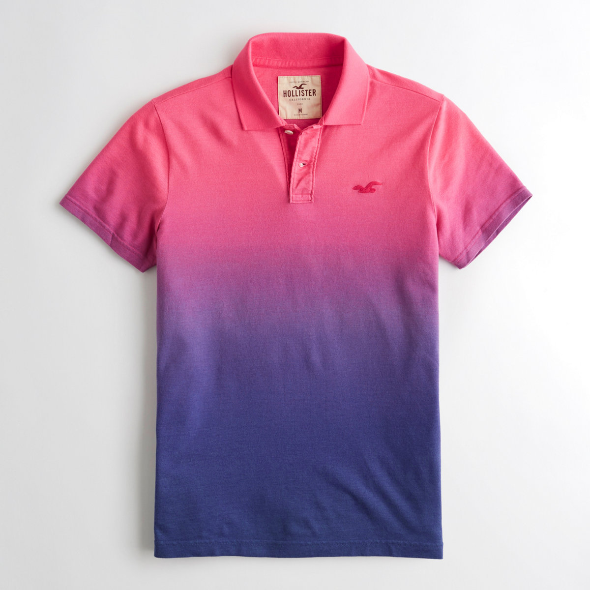 Ombré Pique Polo