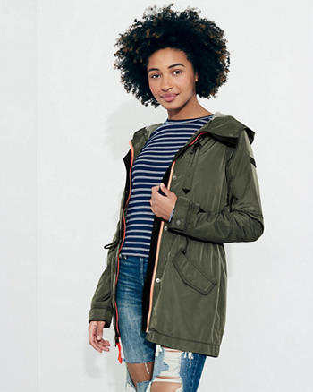 Girls Jackets & Coats | Hollister Co.
