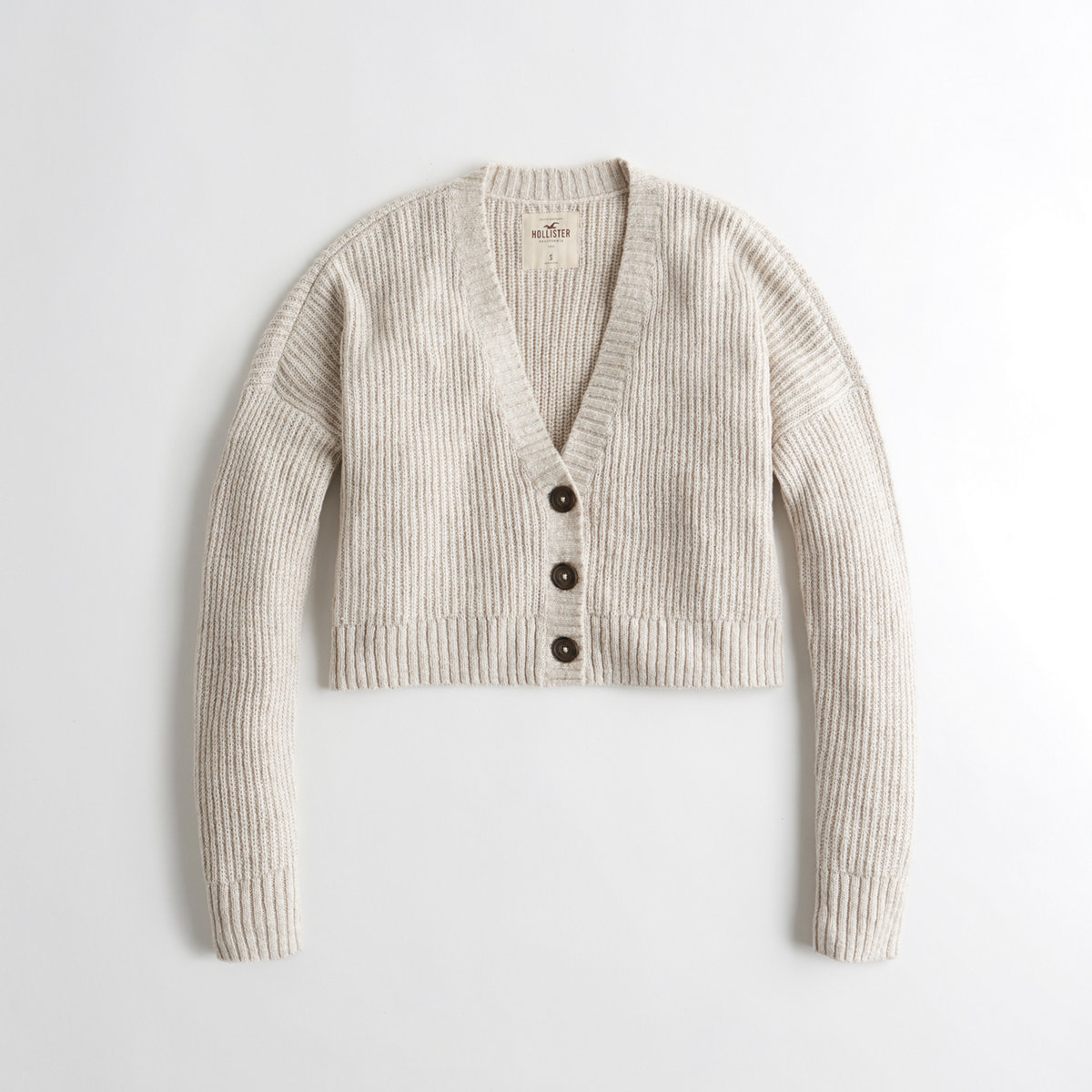Crop Boyfriend Cardigan