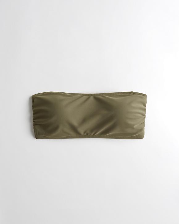 Strappy Bandeau Bikini Top | Tuggl