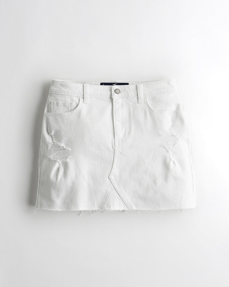 Women's Clothing Hollister Skirt Black And White Small Clearance Price