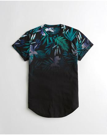 hol Must-Have Curved Hem T-Shirt