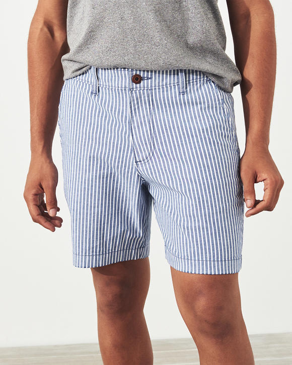 Beach Prep Twill Shorts by Hollister