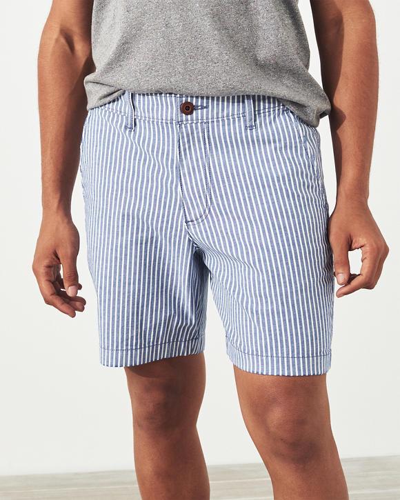 Beach Prep Twill Shorts by Hollister