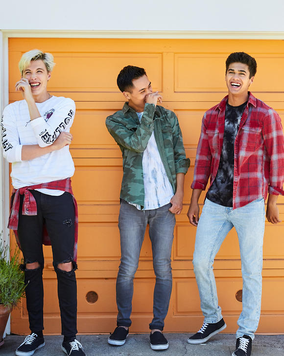 Guys Hollister Epic Flex Skinny Jeans | Guys Clearance