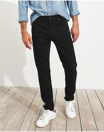 Hollister blue Skinny Destroyed Light Denim Jeans 2872CAA667A216GS_1