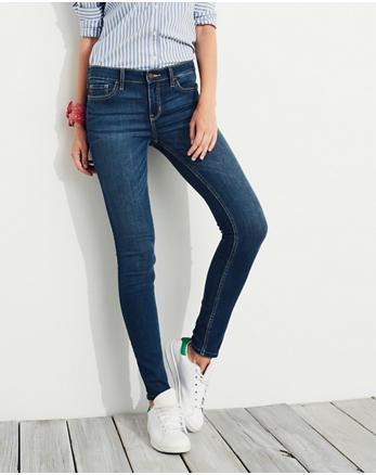 hol Low Rise Super Skinny Jeans