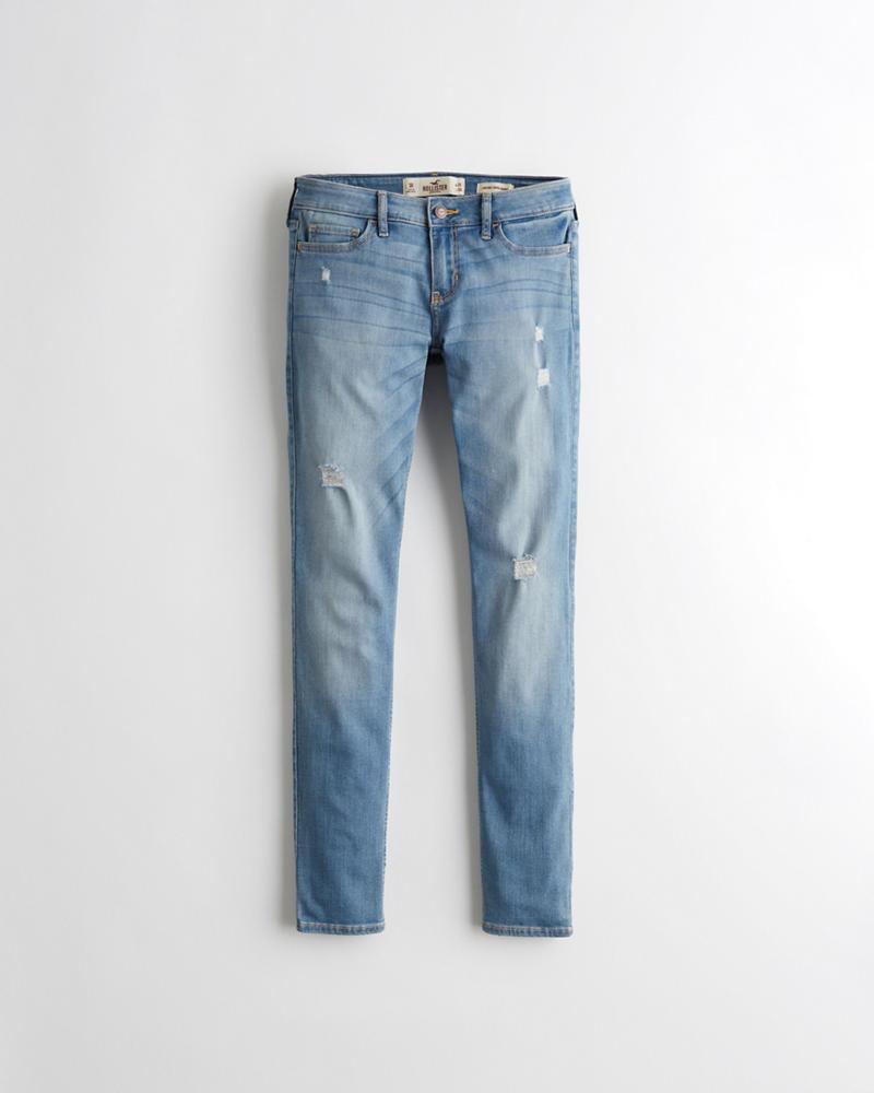 b2e1f2f8683 Girls Classic Stretch Low-Rise Super Skinny Jeans   Girls Clearance ...