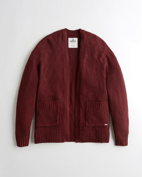 Textured Oversized Cardigan by Hollister