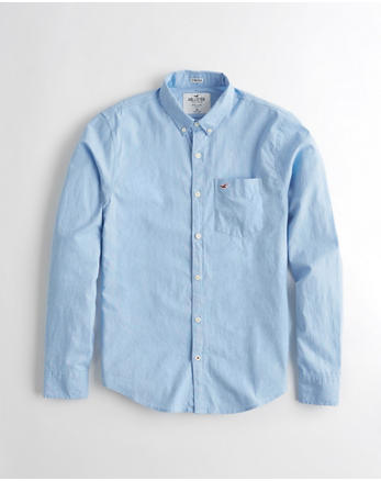 Chicos Camisas | Hollister Co.