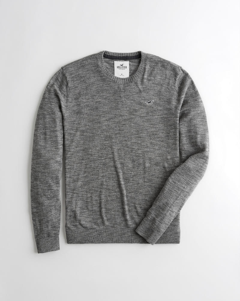 ce15b45c7 Guys Lightweight Crewneck Sweater | Guys Sale | HollisterCo.com