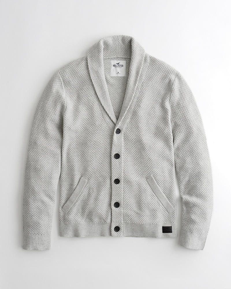 0d6a4864b Textured Shawl Cardigan