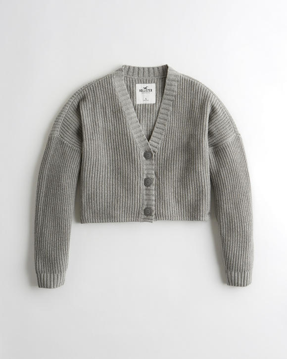 Crop Cardigan by Hollister
