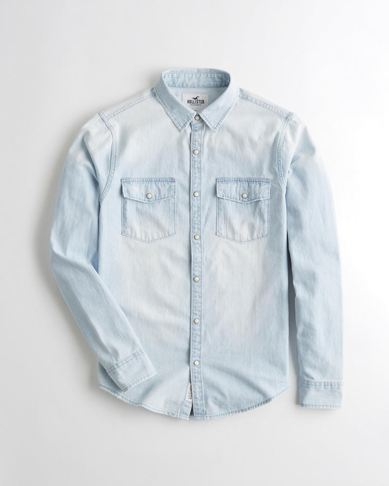 Guys Denim Shirt  b99e04ef2ca