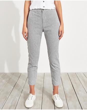 08187739cdf5 Stretch Crop Taper Pants