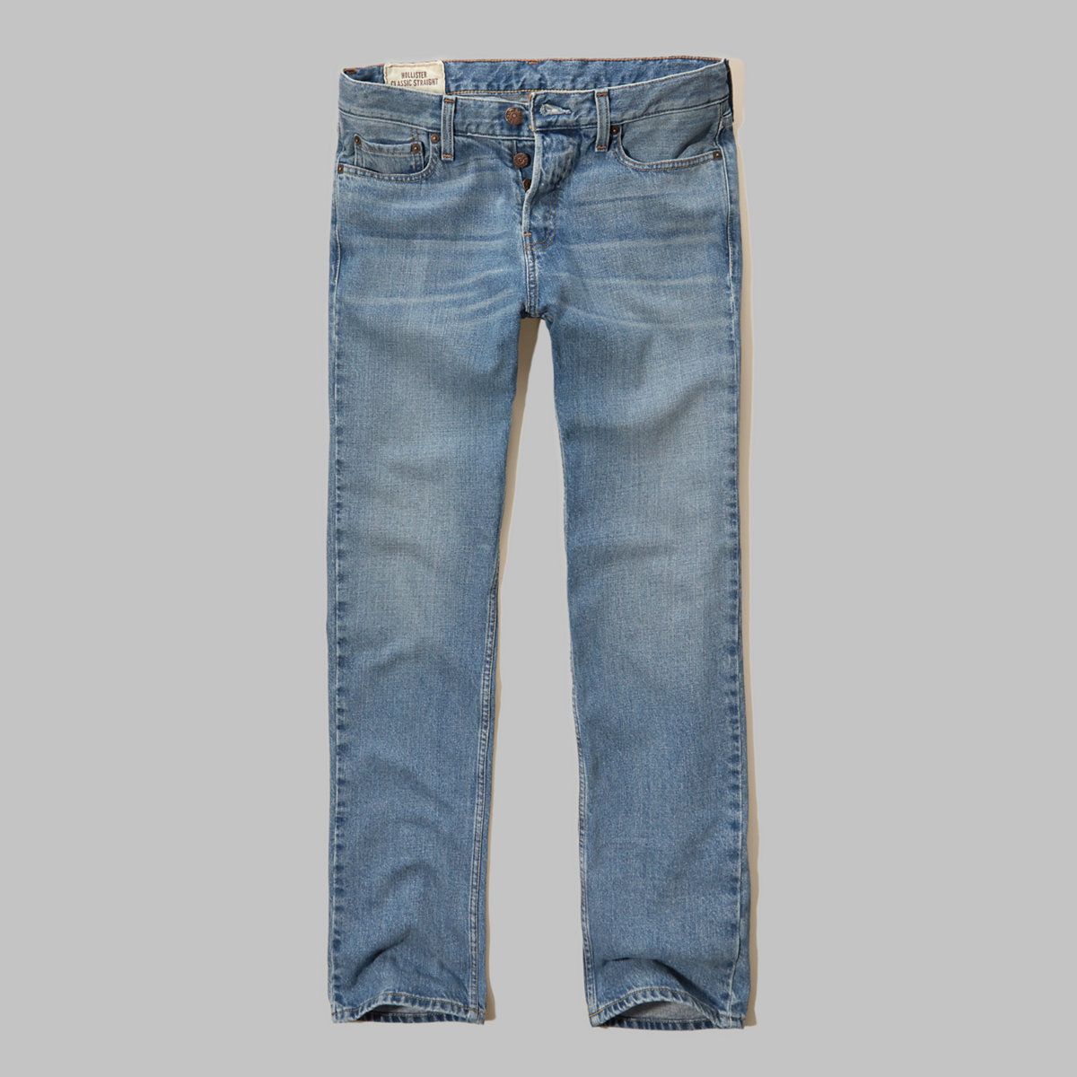 Hollister Classic Straight Button Fly Jeans