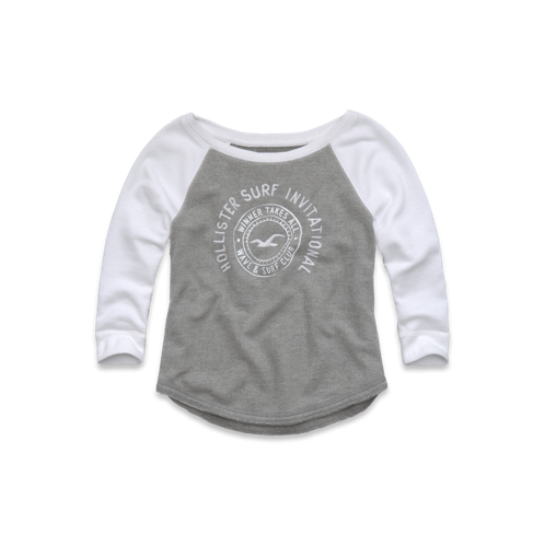 Girls Bluff's Beach Sweatshirt