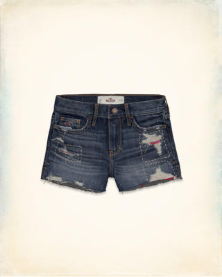 Hollister High-Rise Short-Shorts
