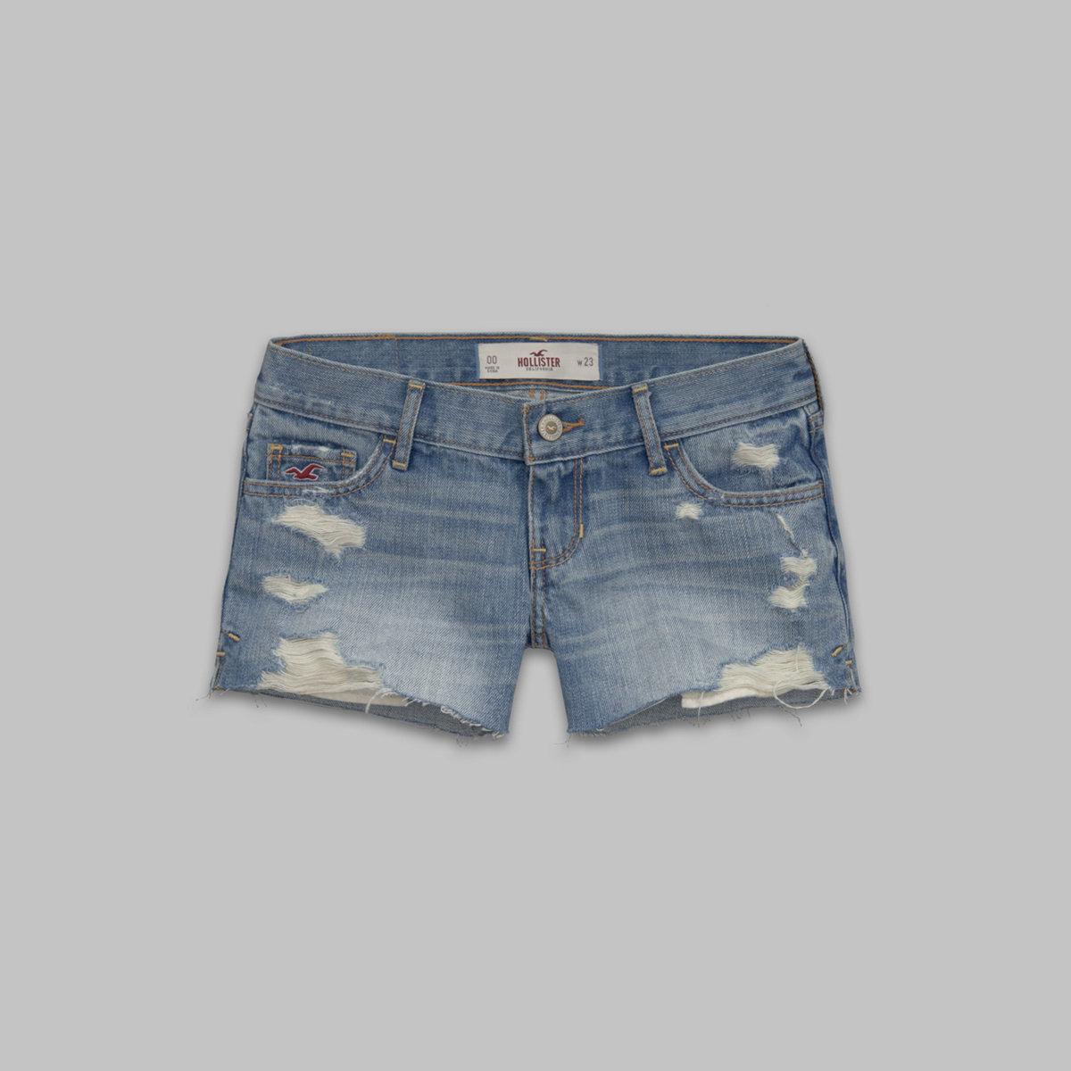 Hollister Low Rise Midi Shorts