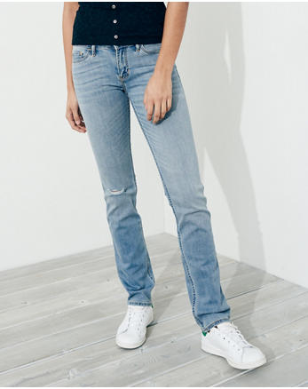 hol Stretch Low-Rise Skinny Jeans