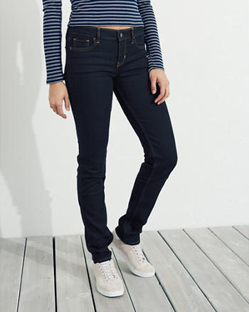 Stretch Low-Rise Skinny Jeans