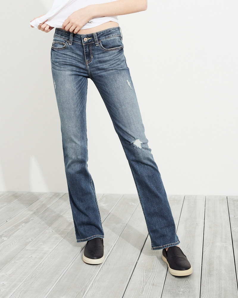 How to make boot cut jeans tight