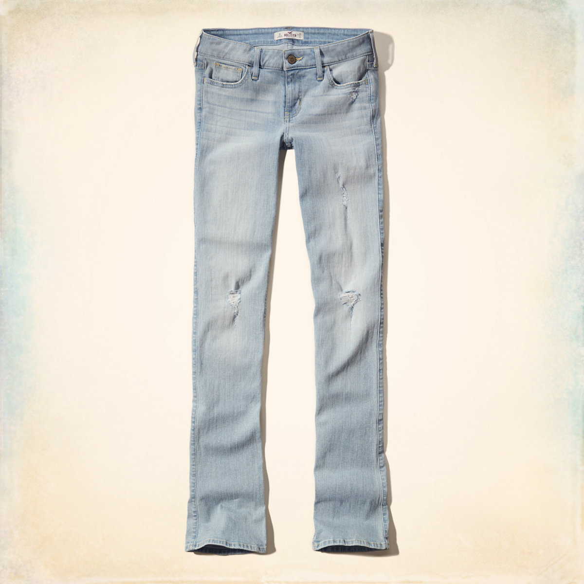 Low-Rise Boot Jeans