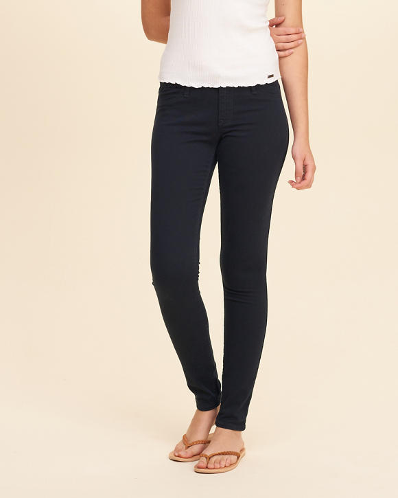 girls stretch lowrise super skinny jeans girls bottoms