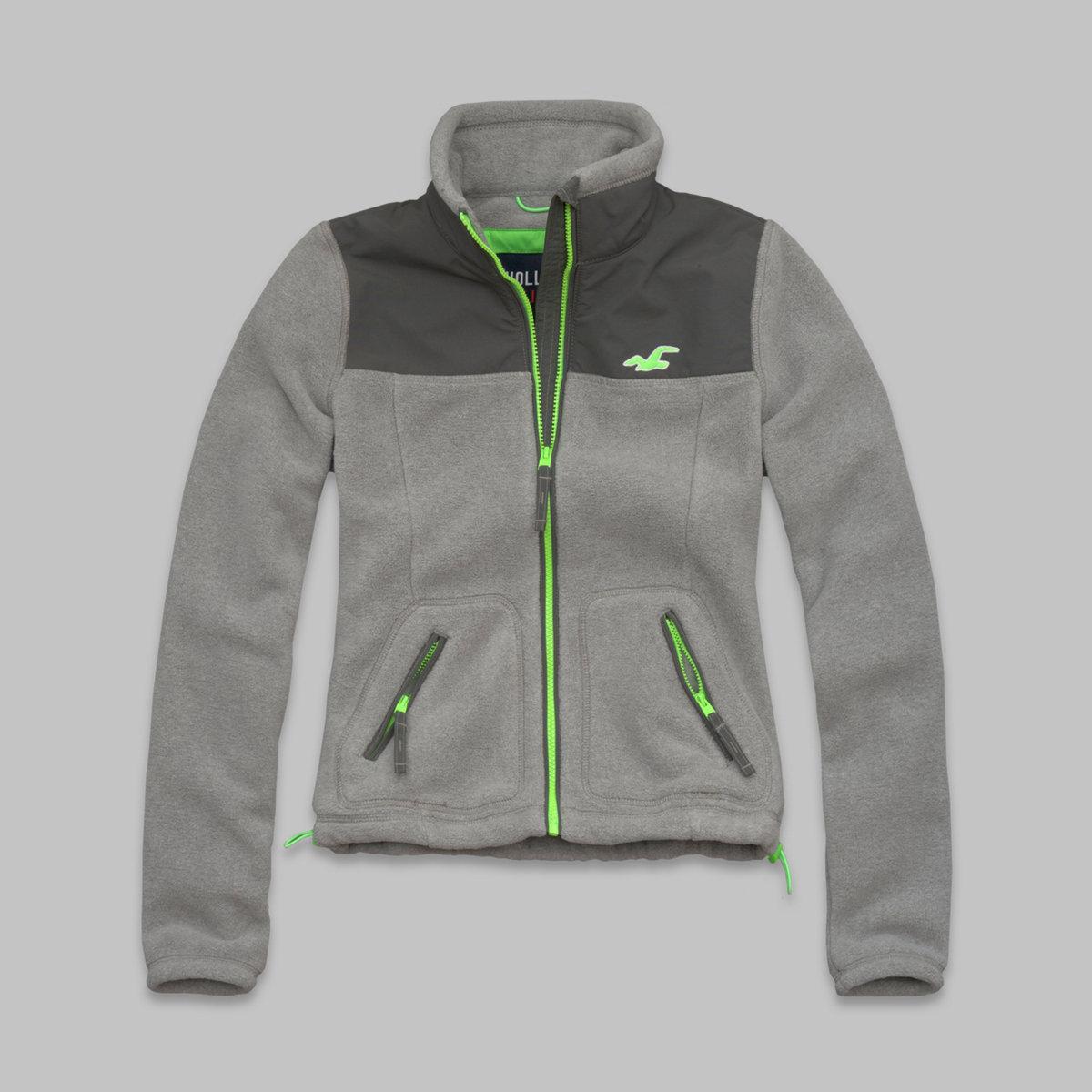 Hollister So Cal Oceanside Fleece Jacket