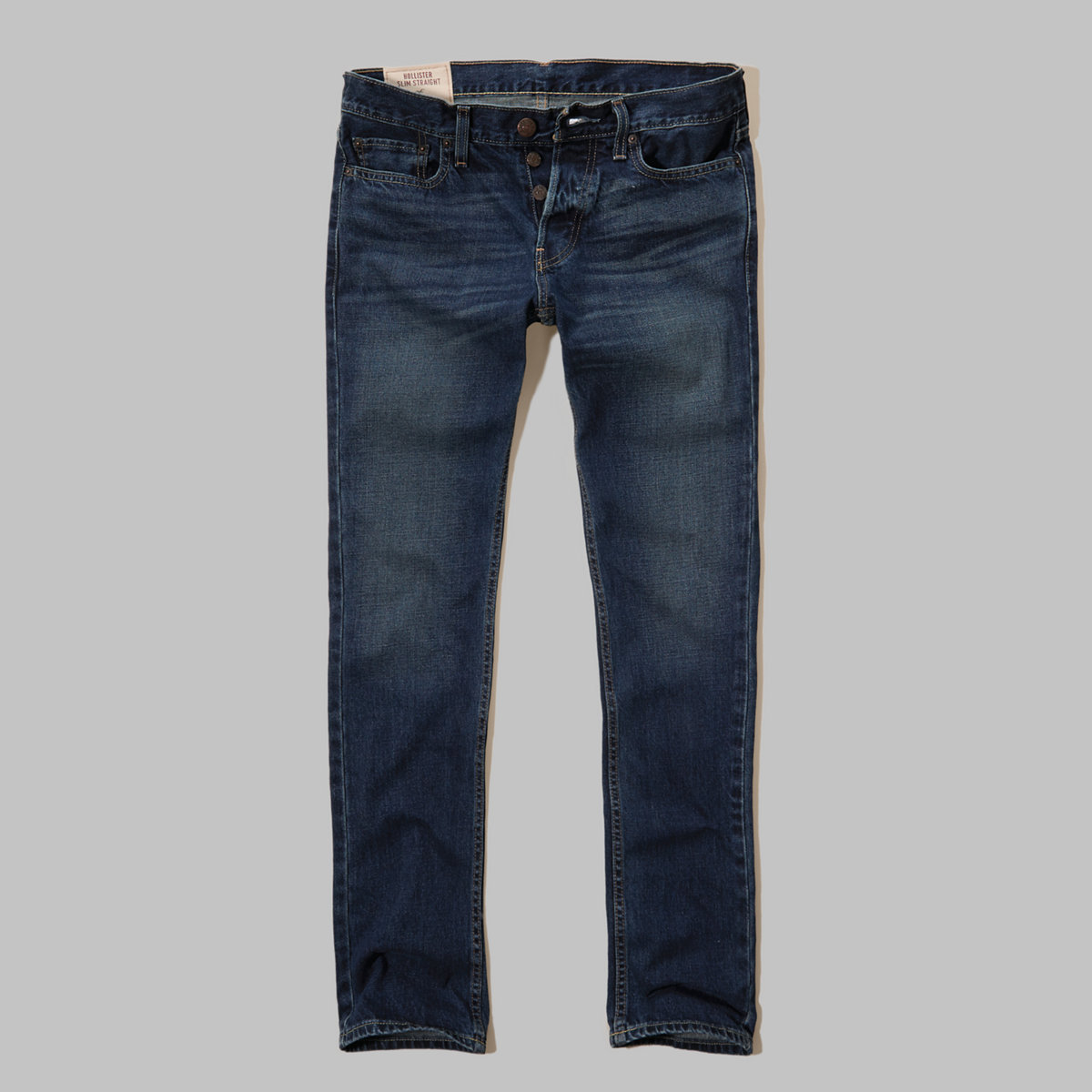 Hollister Slim Straight Button Fly Jeans
