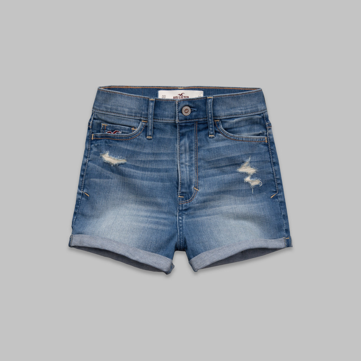 Hollister Natural Waist Short-Shorts