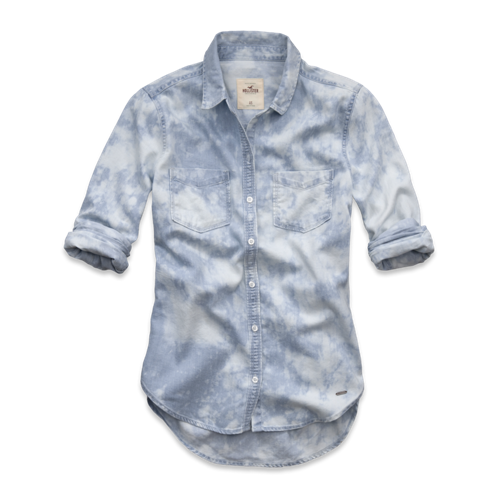 Girls Malibu Denim Shirt