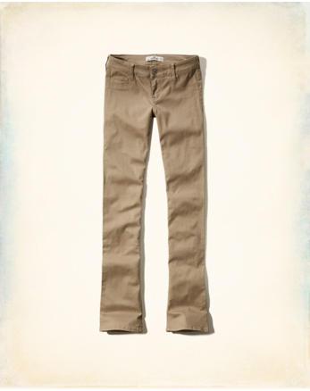 Jeans boot-cut de tiro bajo 4a9bb5819175