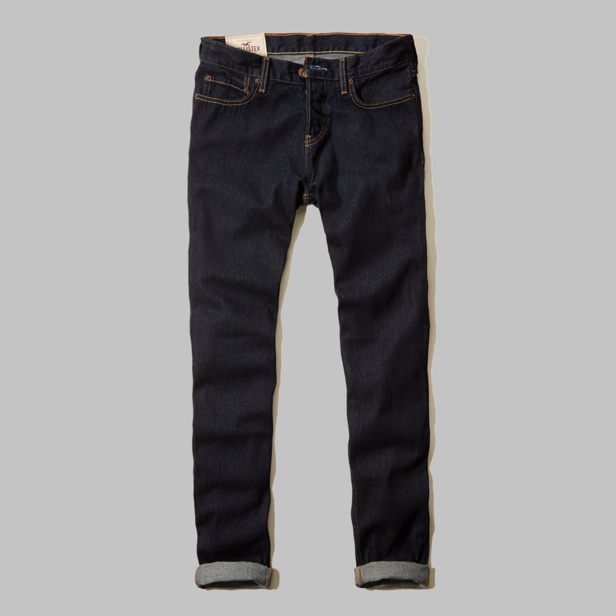 Hollister Classic Taper Button Fly Jeans