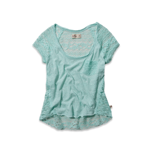 Girls Cabrillo Beach Lace Back Top
