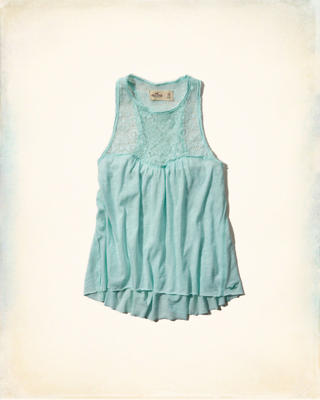 Brooks Street Lace Tank