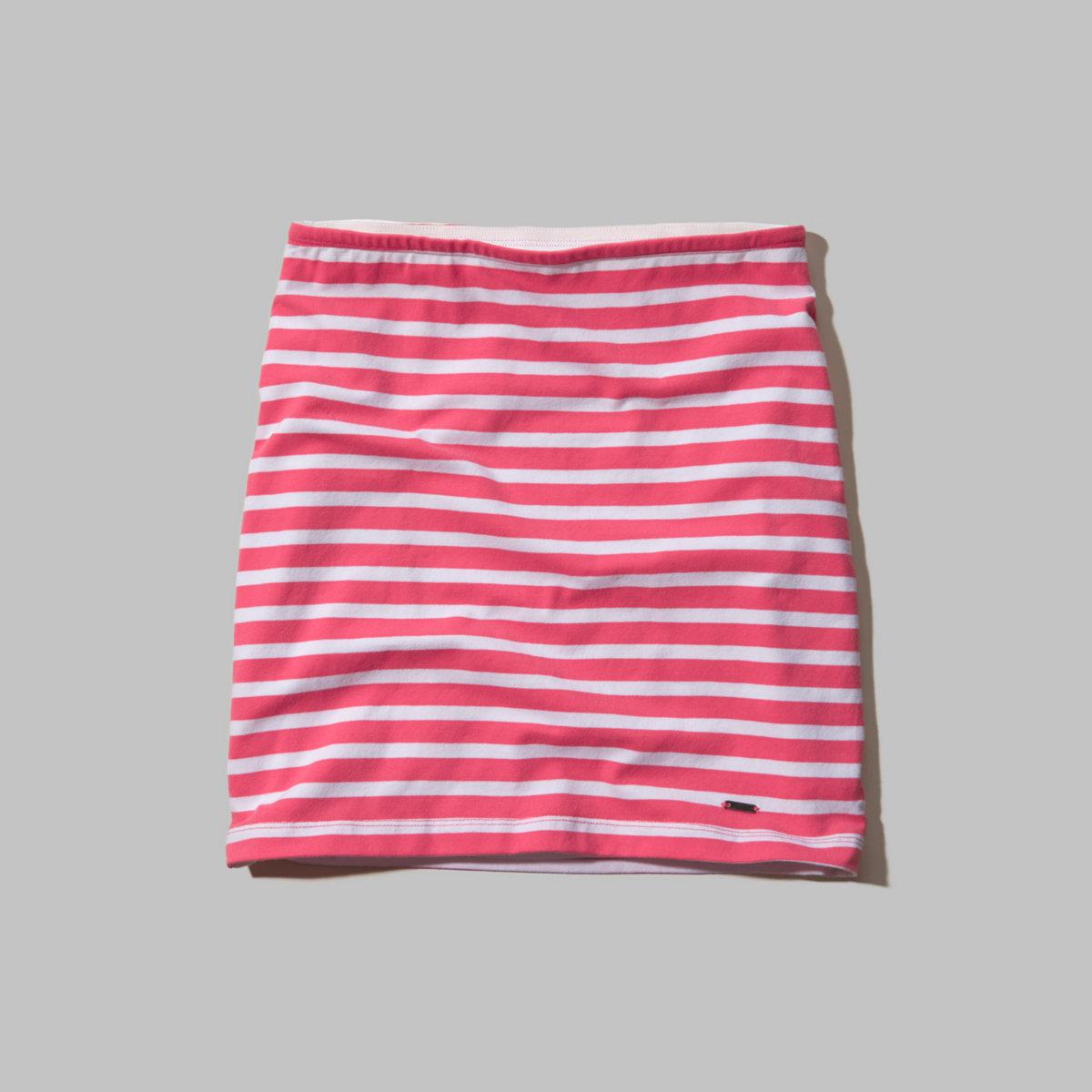 Hollister Natural Waist Knit Bodycon Skirt