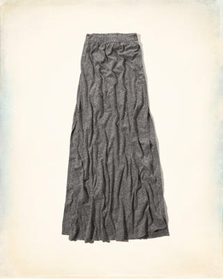 Hollister Knit Maxi Skirt