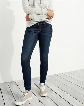 hol Low-Rise Super Skinny Jeans