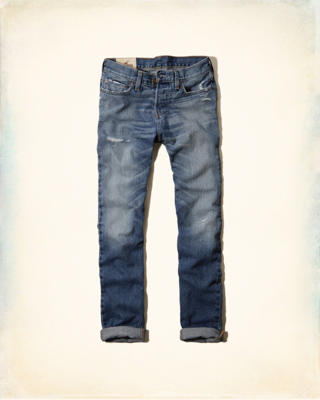 Hollister Skinny Button Fly Jeans