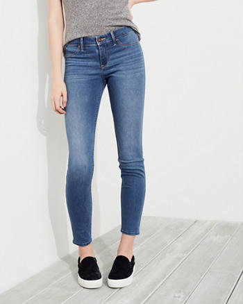 Stretch Low-Rise Jean Leggings