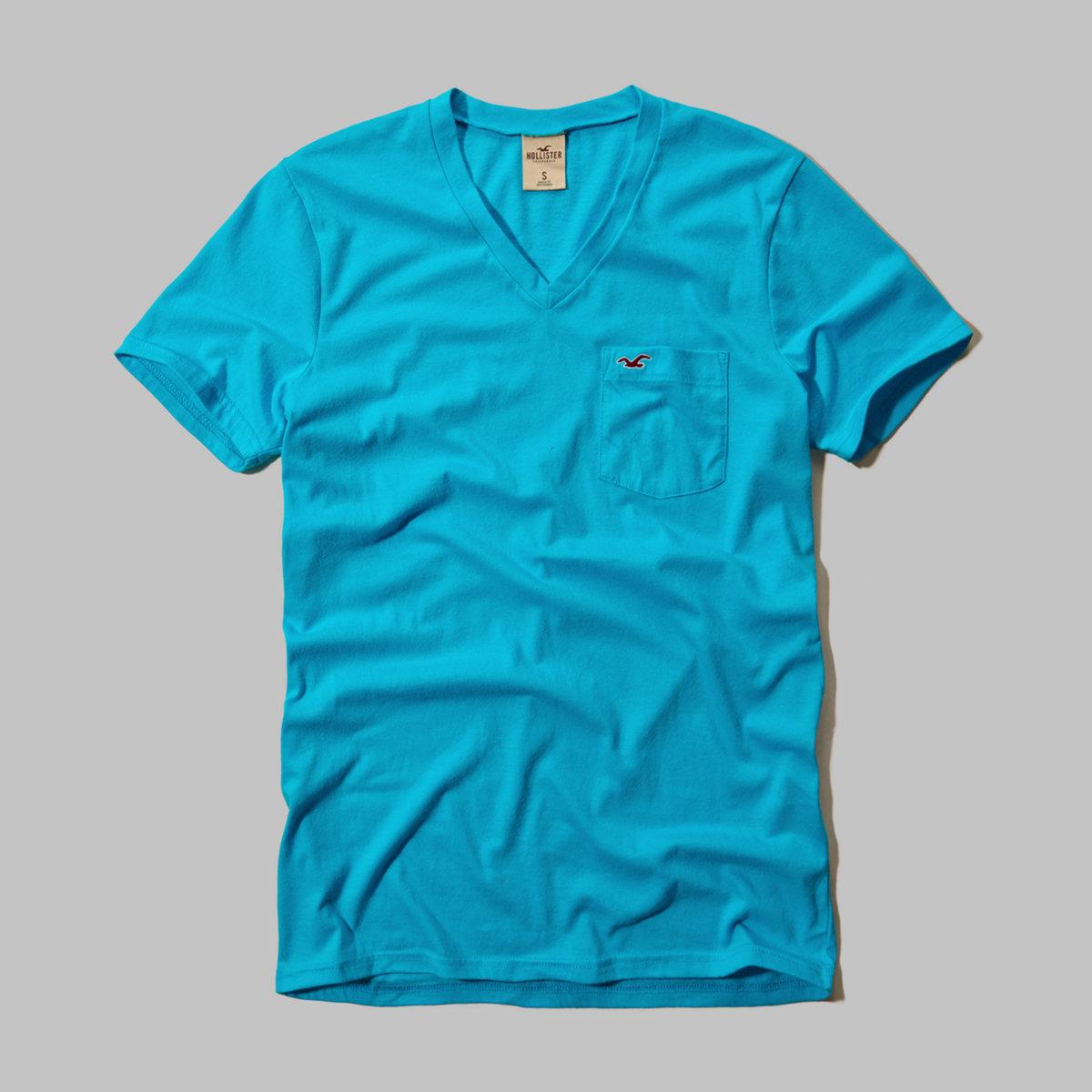 Wipeout Beach V Neck T-Shirt