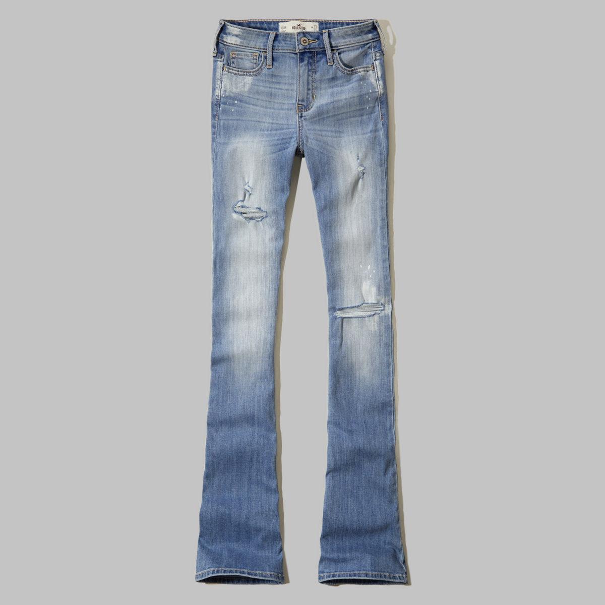 Hollister Matti High Rise Flare Jeans