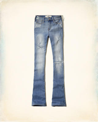 Hollister Matti High Rise Flare Jeans